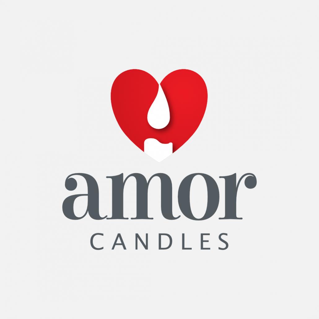 Amor Candles Logo