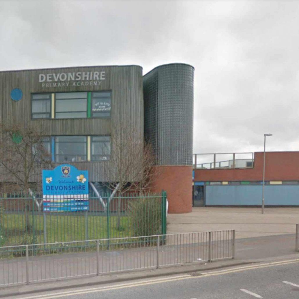 Exterior Signage Devonshire Road School