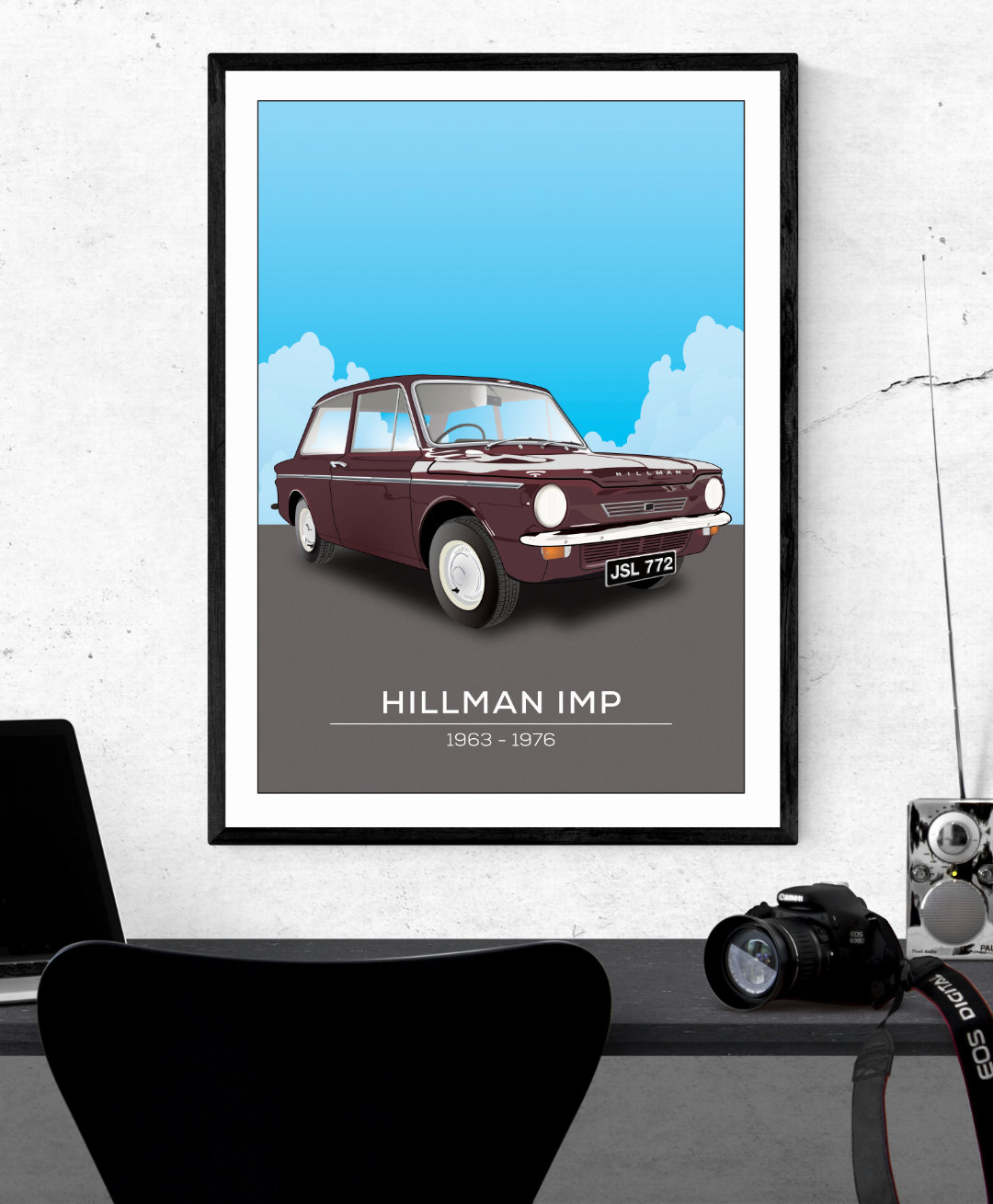 Hillman Imp Illustration