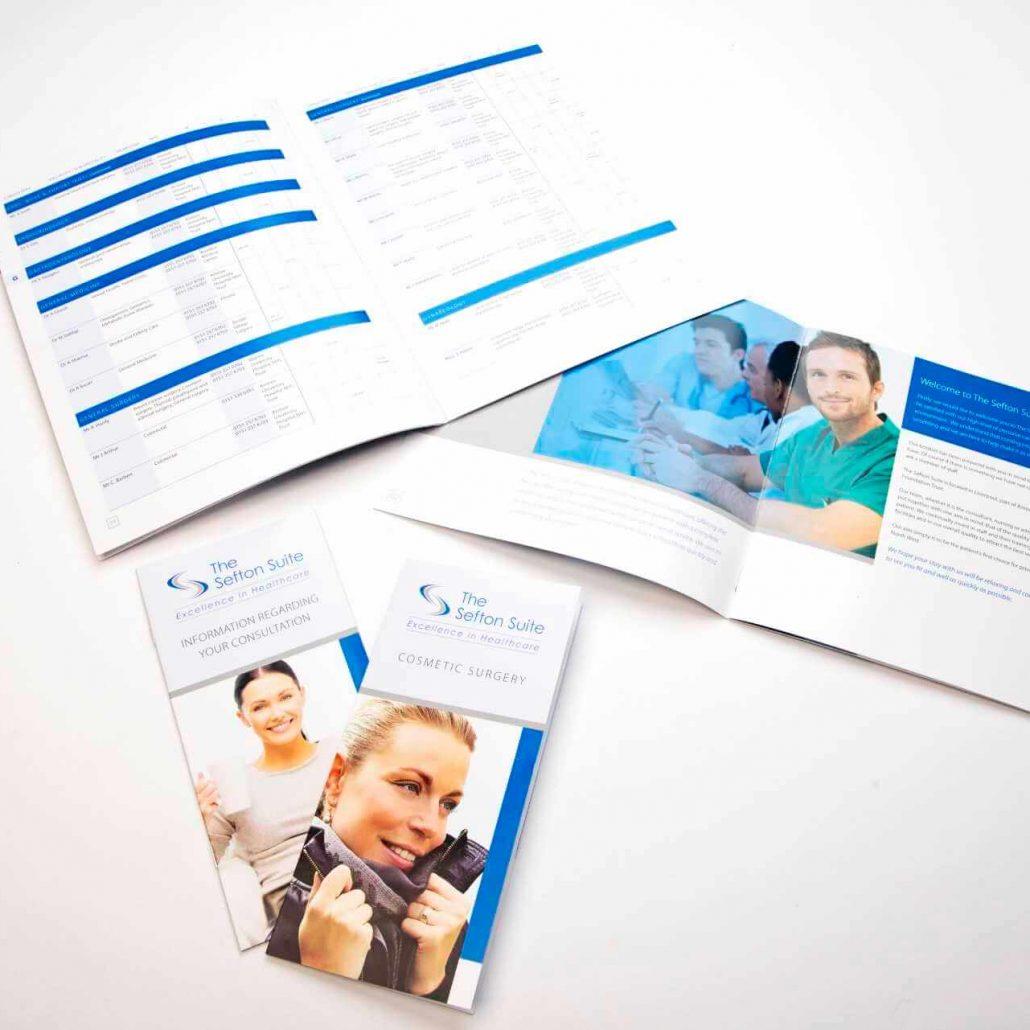 The Sefton Suite Brochure Design