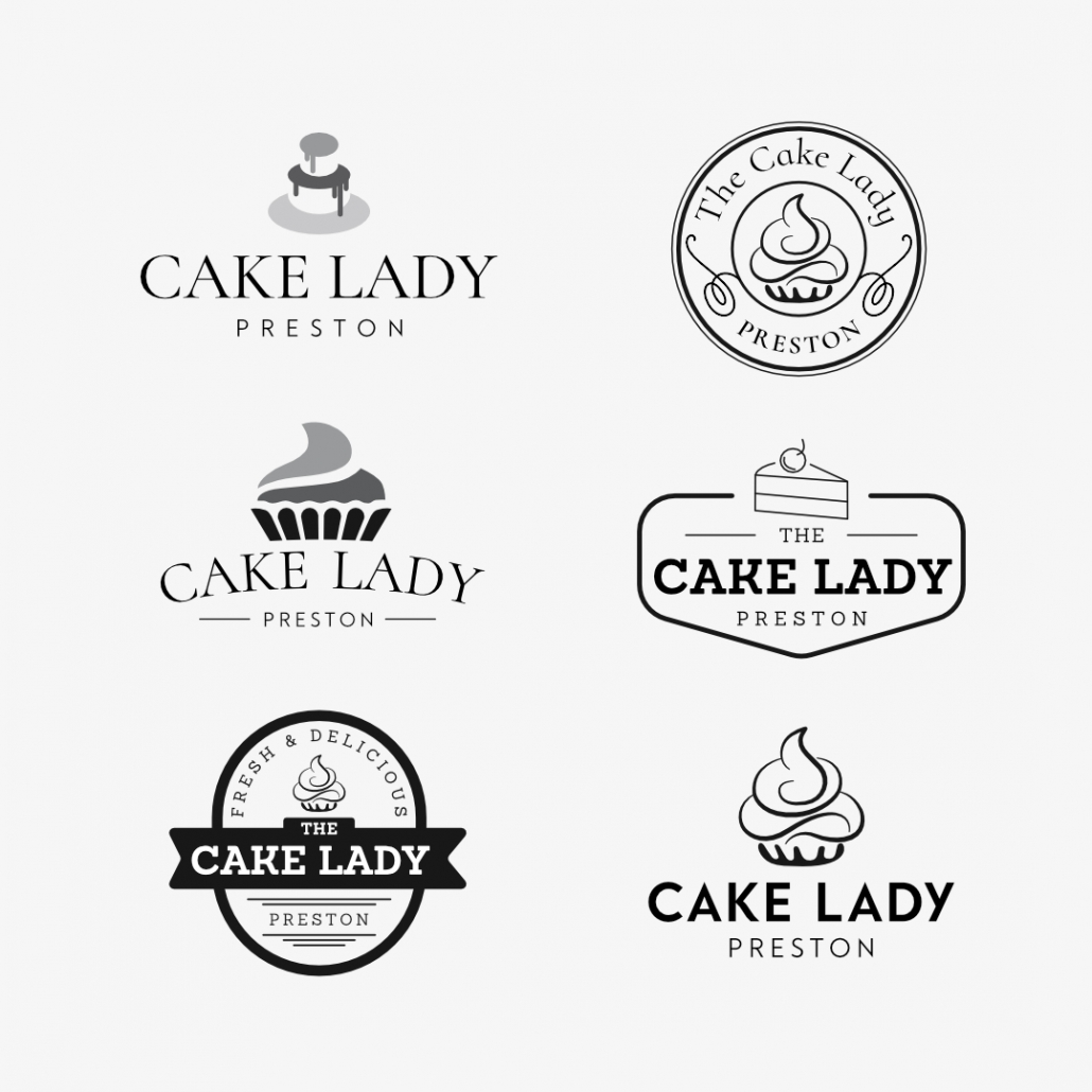 Concept Branding For The Cake Lady Preston